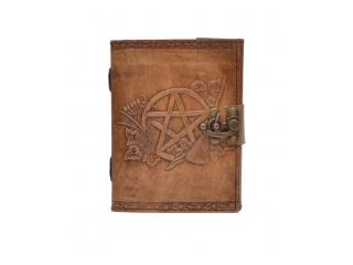 Vintage Leather Journal New Design Pentagram Journal Notebook & Sketchbook Diary