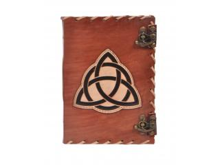 New Design Vintage Handmade Leather Journal Wholesaler Beautiful Cut Work Leather Journal Triangle Design Notebook