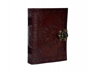 Handmade Celtic Tooled Leather Beautiful Blank Journal Diary Sketch Notebook Book