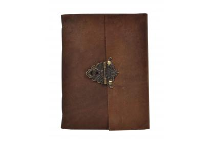 Leather Journal Writing Notebook Antique Brass Handmade Cheap Journal Notebooks For Gifts