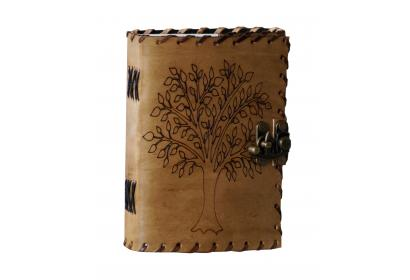 Vintage Handmade Leather Journal Tree Of Life Journal Handmade Leather Cover Embossed Diary Notebook & Sketchbook