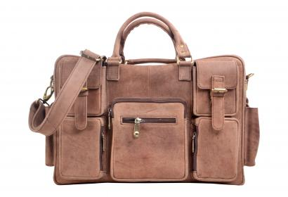 New retro crazy horse leather men Messenger bag shoulder bag travel laptop bag